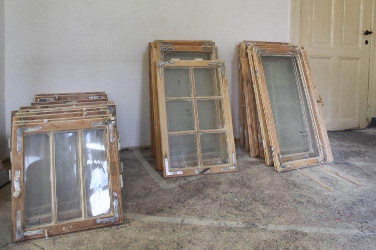 Denkmalgerechte Instandsetzung von Fenstern